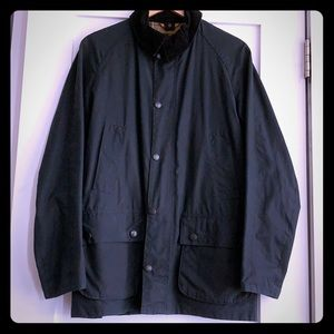 Small Navy Men's Barbour Ashby Jacket
